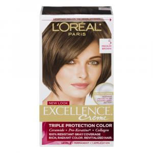 L'Oreal Excellence Creme #5 Medium Brown Hair Color