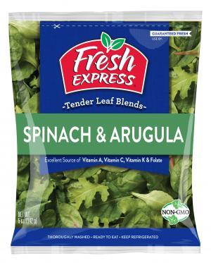 Fresh Express Spinach and Arugula