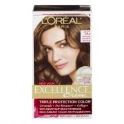 L'Oreal Excellence Creme #5G Medium Golden Brown Hair Color