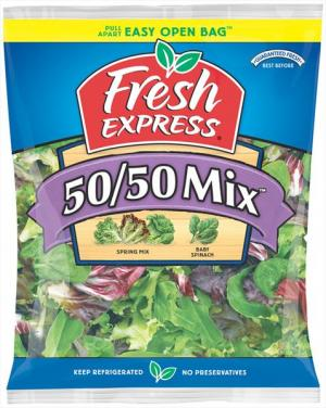 Fresh Express Baby Spinach Spring Mix