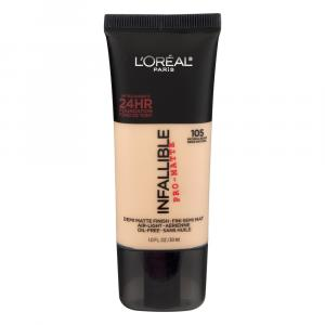 L'oreal Infallible Matte Foundation Natural Beige