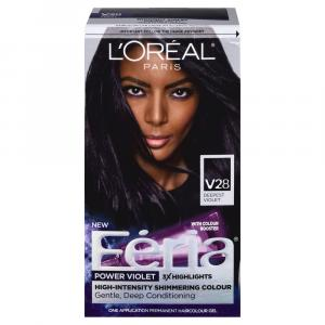 L'Oreal Paris Feria Midnight Violet V28 Hair Color