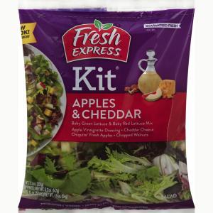 Fresh Express Apples & Cheddar Salad Kit