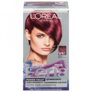 L'Oreal Feria #V48 Shimmering Violet Vixon Hair Color