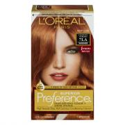 L'Oreal Preference #7LA Light Auburn Hair Color