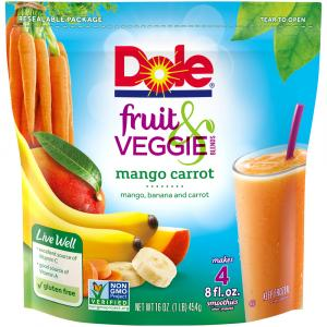 Dole Fruit & Veggie Blends Mango Carrot
