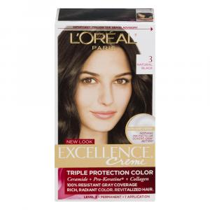 L'Oreal Excellence 3R Natural Black Hair Color