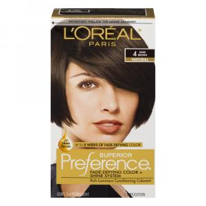 L'Oreal Preference #4 Dark Brown Hair Color