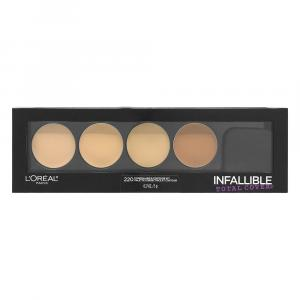 L'oreal Concealing & Contour Kit Infallible Total Cover 220