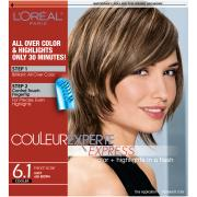 L'Oreal Excellence Creme 6.1 Light Ash Brown Hair Color