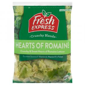 Fresh Express Hearts of Romaine Salad Mix