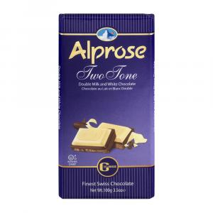 Alprose Two Tone Chocolate Bar
