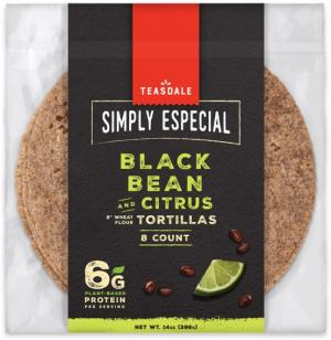 Simply Especial Black Bean and Citrus Tortillas