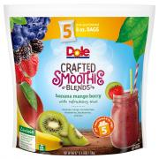 Dole Smoothie Blends Banana Mango Berry