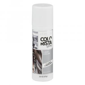 L'Oreal Colo Rista Silver 01 1-Day Color Spray