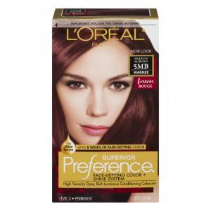L'oreal Preference #5mb Medium Brown Hair Color