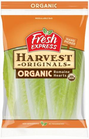 Fresh Express Organic Romaine Hearts