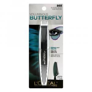 L'oreal Volumn Butterfly Wsh Mascara Black/Black