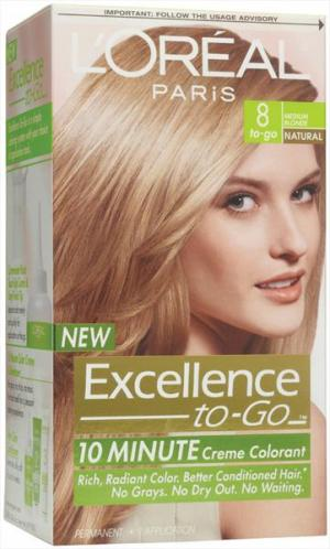 L'oreal Excellence To Go 6 Medium Blonde Hair Color
