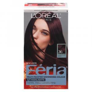 L'Oreal Feria #36 Chocolate Cherry Hair Color