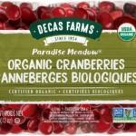 Organic Cranberries Bag