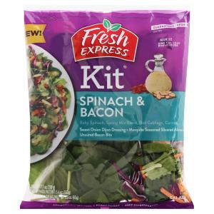 Fresh Express Spinach & Bacon Kit