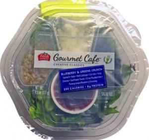 Fresh Express Gourmet Cafe Blueberry & Greens Salad Kit
