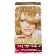 L'Oreal Excellence Creme #8G Golden Blonde Hair Color