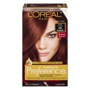 L'Oreal Preference #4R Dark Auburn Hair Color