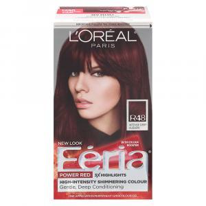 L'Oreal Feria Power Reds Red Velvet R48 Hair Color