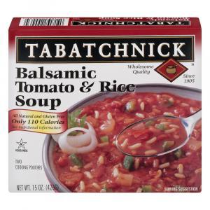 Tabatchnick Balsamic Tomato & Rice Soup