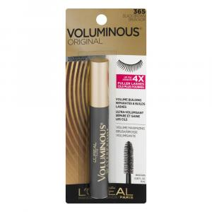 L'oreal Wp Volume Mascara Br/Black