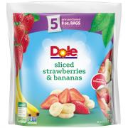 Dole Sliced Strawberry & Bananas