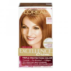 L'oreal Excellence Creme #8rb Red Blonde Hair Color