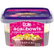 Dole Acai Bowls Tropical