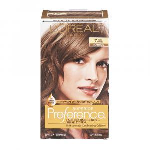 L'Oreal Preference #7 Dark Blonde Hair Color