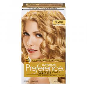 L'Oreal Preference #8G Golden Blonde Hair Color