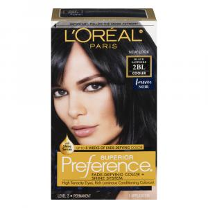 L'oreal Preference #2bl Black Sapphire Hair Color
