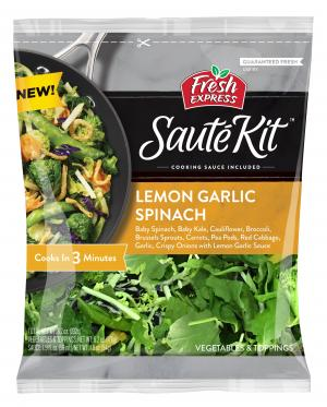 Fresh Express Saute Kit Lemon Garlic & Spinach
