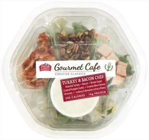 Fresh Express Gourmet Cafe Turkey & Bacon Chef Salad Kit