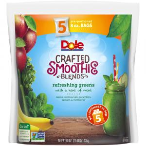 Dole Smoothie Blends In Bag Refreshing Greens