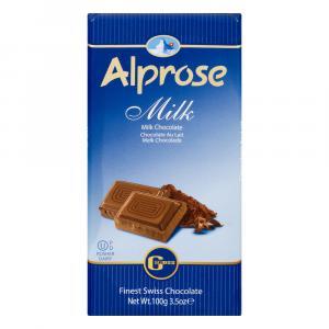 Alprose Milk Chocolate Bar