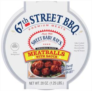 67th Street Meatballs With Sauce