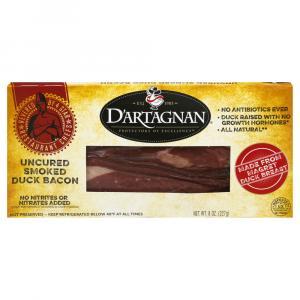 D'artagnan Uncured Smoked Duck Bacon
