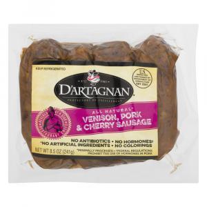 D'Artagnan Venizon & Cherry Sausage