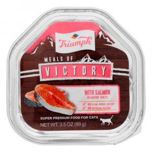 Triumph Salmon Recipe Cat Food