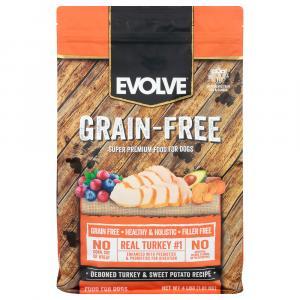 Evolve Grain Free Turkey Garbanzo Bean & Pea Recipe Dog Food