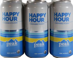 Peak Organic Brewing Co. Happy Hour Pilsner
