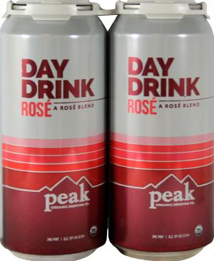 Peak Organic Brewing Co. Day Drink Rose