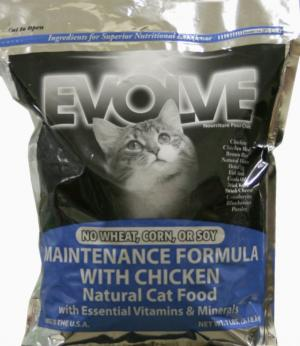 Evolve Maintenance Cat Food